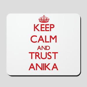 Keep Calm and TRUST Anika Mousepad
