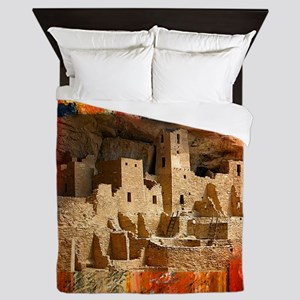 Adobe Cliffs Queen Duvet