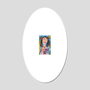 AllyART_blue_self_8 20x12 Oval Wall Decal