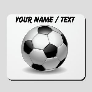 Custom Soccer Ball Mousepad