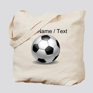 Custom Soccer Ball Tote Bag