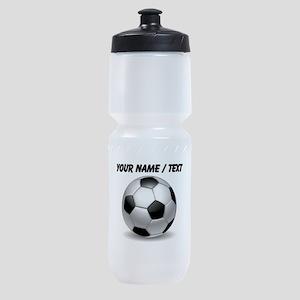 Custom Soccer Ball Sports Bottle