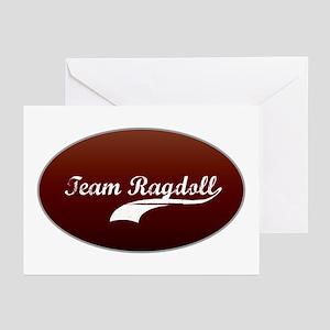 Team Ragdoll Greeting Cards (Pk of 10)