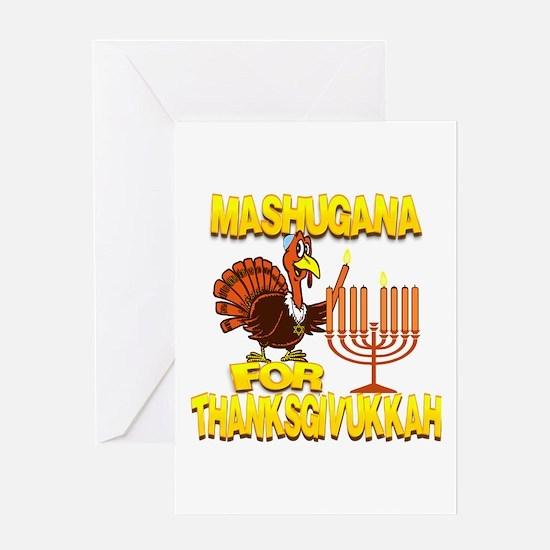 Mashugana For Thanksgivukkah Turkey and Menorah Gr