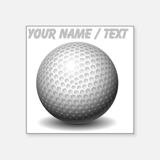 Custom Golf Ball Sticker