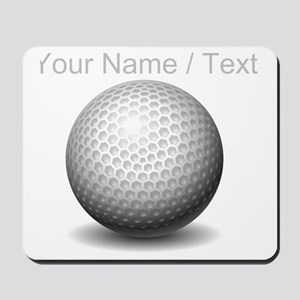 Custom Golf Ball Mousepad