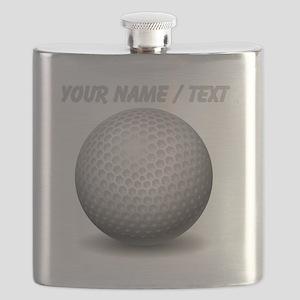 Custom Golf Ball Flask