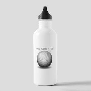 Custom Golf Ball Sports Water Bottle