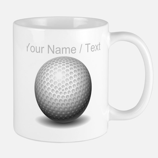 Custom Golf Ball Mugs