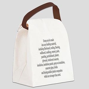STEEL (Black) Canvas Lunch Bag