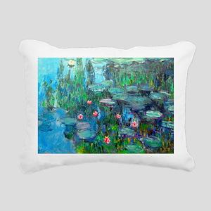 Laptop Monet WL1914v2 Rectangular Canvas Pillow