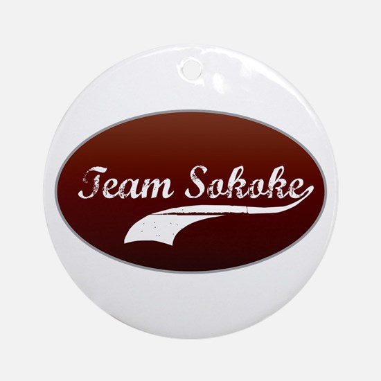 Team Sokoke Ornament (Round)