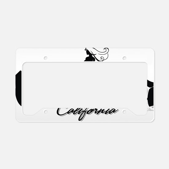 Ventura Surfer Girl 032212 co License Plate Holder