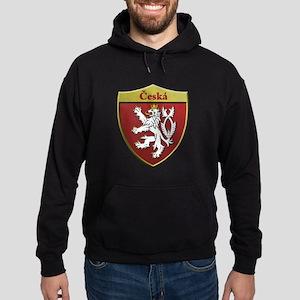 Czech Metallic Shield Hoodie
