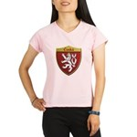 Czech Metallic Shield Performance Dry T-Shirt