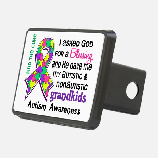 D Blessing 4 Autism Grandk Hitch Cover