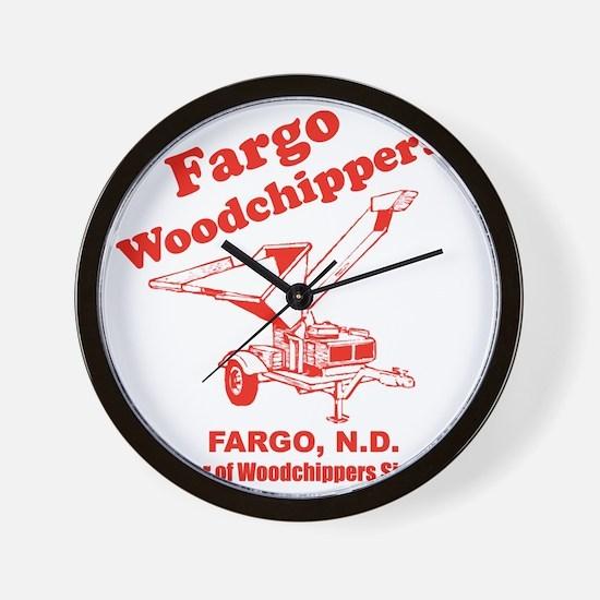 Fargowoodchippers Wall Clock