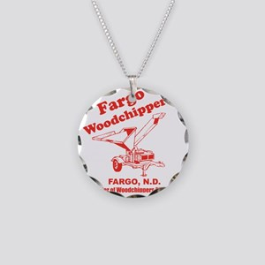 Fargowoodchippers Necklace Circle Charm