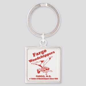 Fargowoodchippers Square Keychain