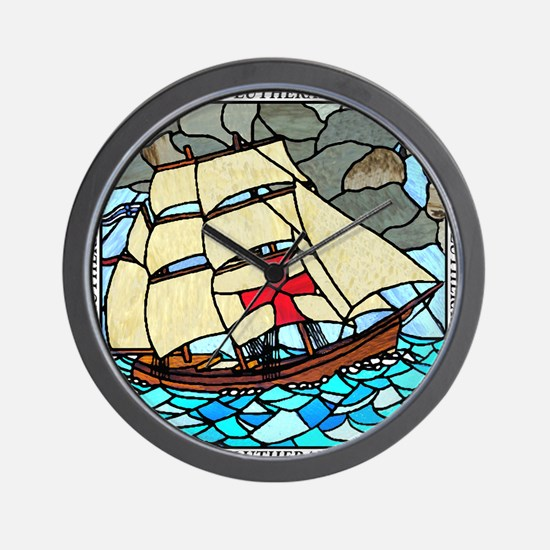 Holy Trinity Ship Tshirt Wall Clock