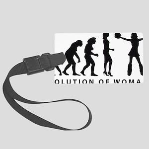 EVOLUTION Cheerleader 03-2011 B  Large Luggage Tag