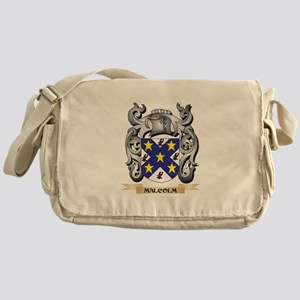 Malcolm Coat of Arms - Family Crest Messenger Bag