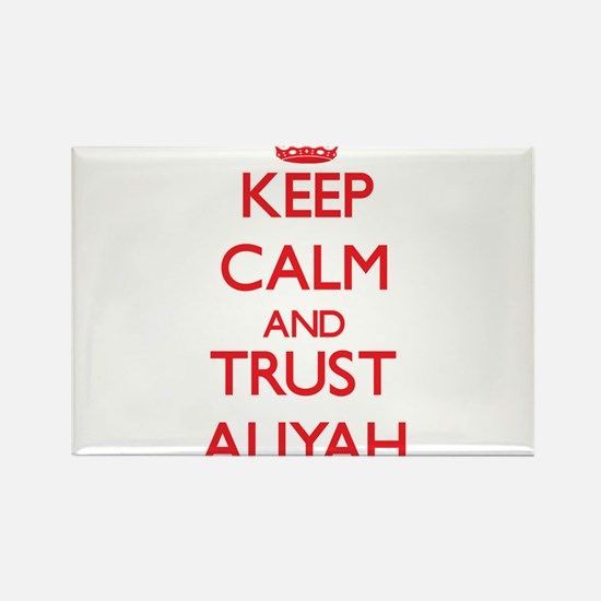 Keep Calm and TRUST Aliyah Magnets