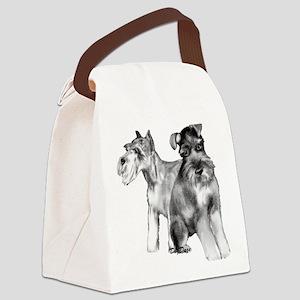 schnauzers Canvas Lunch Bag