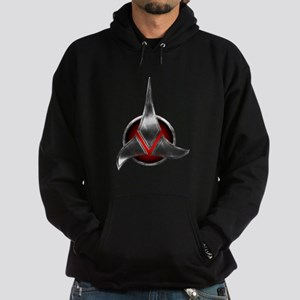 Star Trek KLINGON Metal Logo Hoodie (dark)
