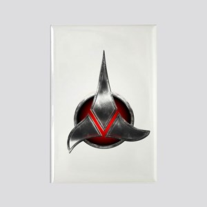 Star Trek KLINGON Metal Logo Rectangle Magnet