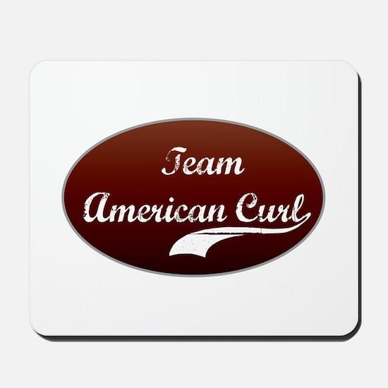 Team Curl Mousepad