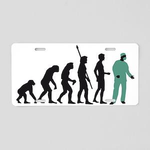 Evolution Chirurg B 2c Aluminum License Plate