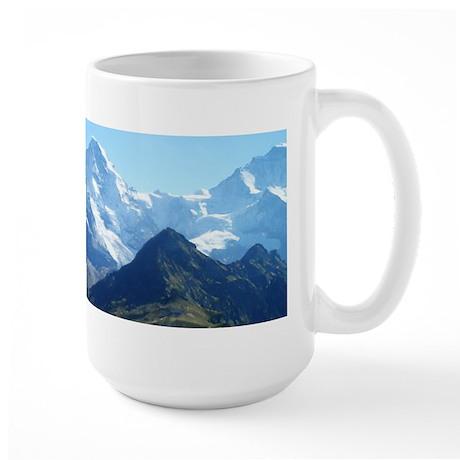 Mountain Tops Large Mug