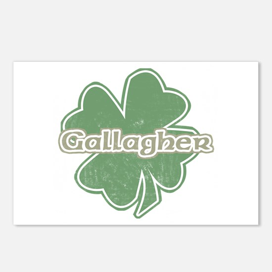 """Shamrock - Gallagher"" Postcards (Package of 8)"