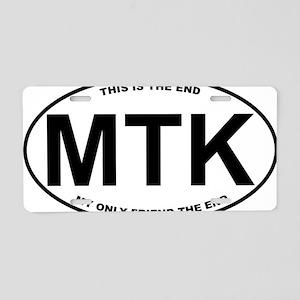 MTK2 Aluminum License Plate