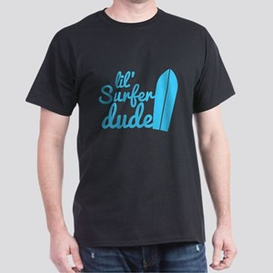 lil (Little) Surfer dude! with surfboard T-Shirt