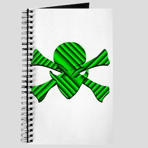 Alien Jolly Roger in Green Journal