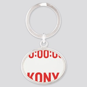 times up wh Oval Keychain