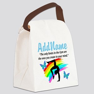 DAZZLING GYMNAST Canvas Lunch Bag