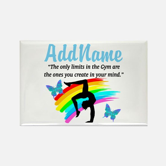 DAZZLING GYMNAST Rectangle Magnet