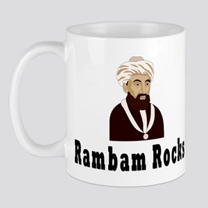 Rambam Rocks Mug