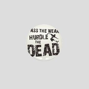 hurdle the dead Mini Button