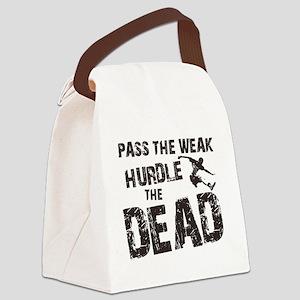 hurdle the dead Canvas Lunch Bag
