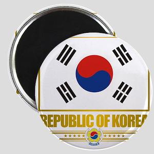 South Korea (Flag 10) Magnet