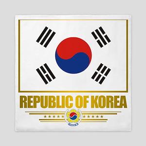 South Korea (Flag 10) Queen Duvet