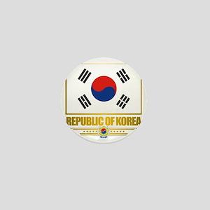 South Korea (Flag 10) Mini Button