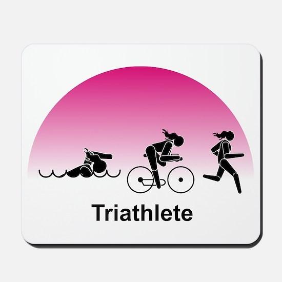 Ladies' Triathlete Mousepad