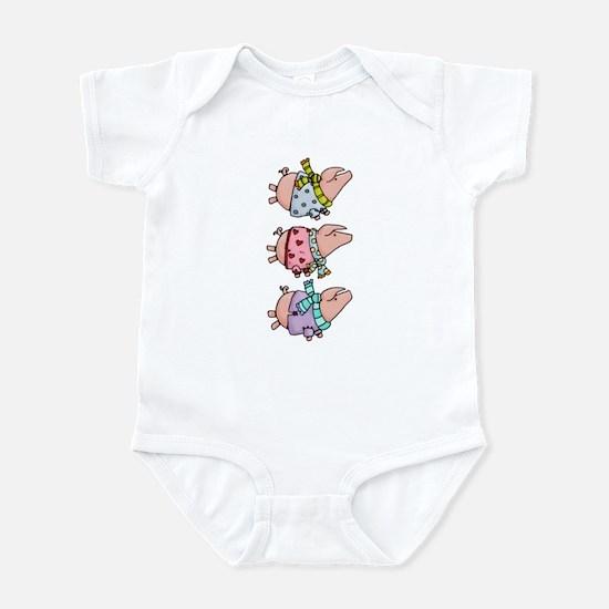 Piggy stack Infant Bodysuit