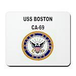 USS BOSTON Mousepad