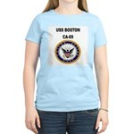 USS BOSTON Women's Light T-Shirt